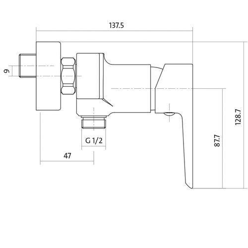 Bateria Cersanit S951-033
