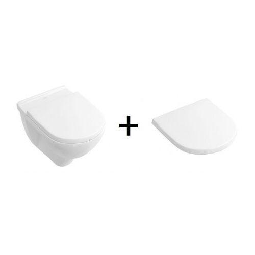 Villeroy&boch o.novo toaleta wc podwieszana z deską wolnoopadającą 5660h101