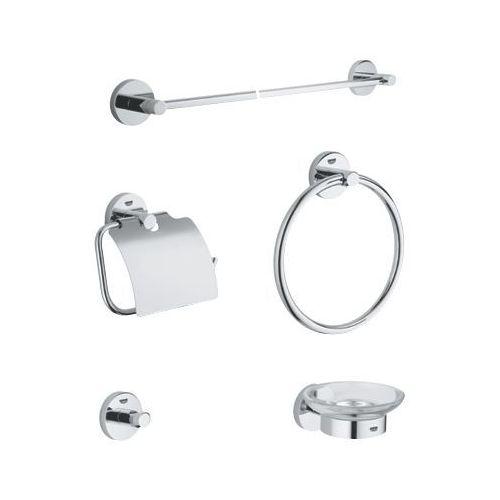 Grohe zestaw akcesoriów łazienkowych, 5w1 essentials 40344001