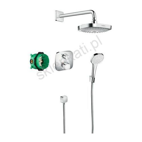 HANSGROHE Croma Select E/ Ecostat E podtynkowy zestaw prysznicowy, kolor CHROM 27294000, 27294000