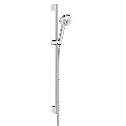Crometta Hansgrohe zestaw prysznicowy crometta 100 multi 090m biały/chrom - 26656400
