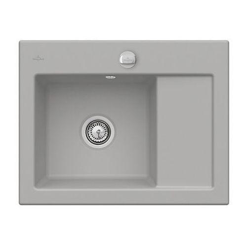 Villeroy & boch Zlew ceramiczny subway 45 compact - kd fossil \ lewa \ automatyczny