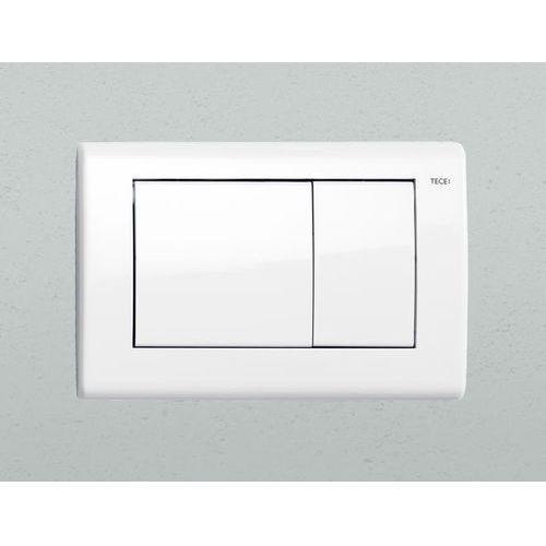 przycisk spłukujący teceplanus biały połysk 9240324 marki Tece
