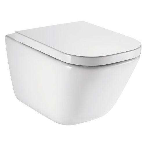 Roca gap miska wc wisząca rimless z deską wc wolnoopadającą a34h47c000