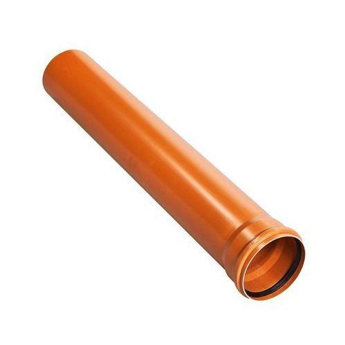 Drewplast Rura kanalizacyjna zewnętrzna kz 110 1m (5907660701054)