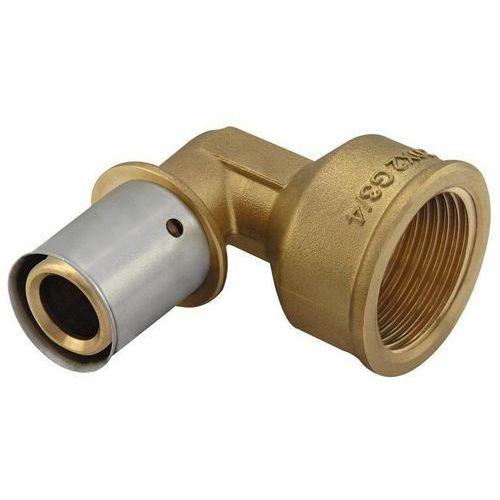 Kan press kolano 16x1/2' GW z pierścieniem zaprasowywanym z gwintem zewnętrznym (5901615137615)