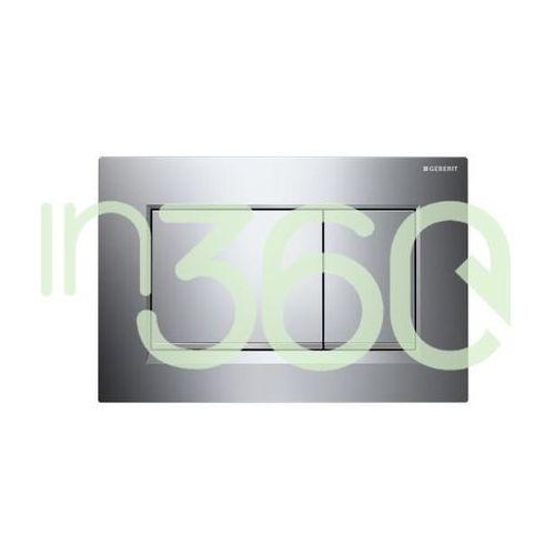 Geberit Sigma30 przycisk uruchamiający przedni, chrom bł-chrom mat-chrom bł. 115.883.KH.1