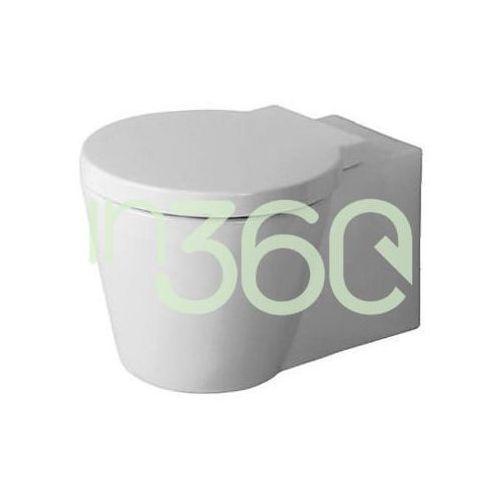 Duravit starck 1 miska wc wisząca 57,5x41 biała wondergliss 02100900641