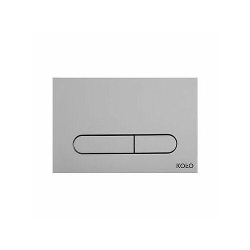 Koło slim przycisk spłukujący, chrom mat 94183-003