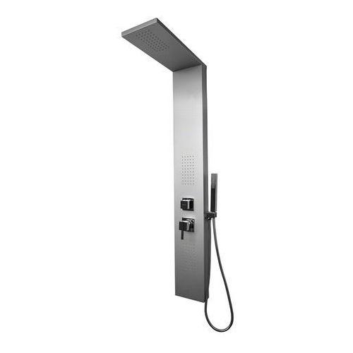 Panel prysznicowy kolor srebrny 9750 uzyskaj 5 % rabatu na zakup marki Rea
