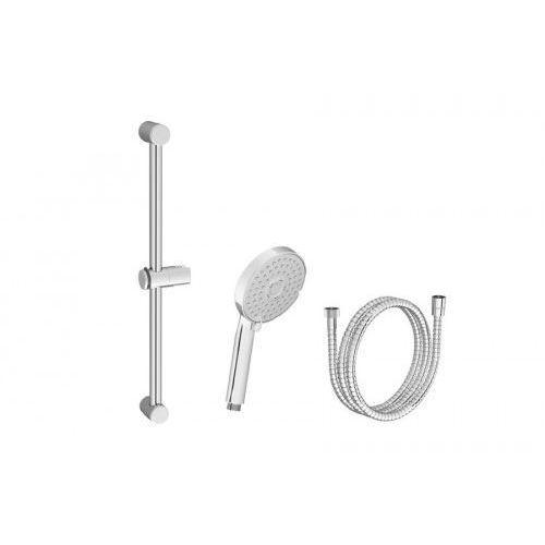 Ravak zestaw prysznicowy-wąż 150cm, słuchawka Flat M, drążek 60cm 922.00 X07S003, X07S003