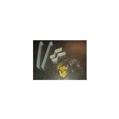 Invena exe uchwyt do montażu narożnego paneli mitis, mitis plus, mauritius ak-60-00w