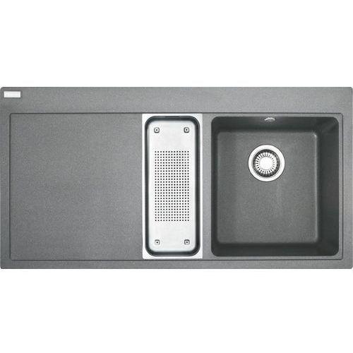 Zlew Franke MTG 651-100 komora z prawej Kamienny Szary 114.0330.985 (zamów wycięcie otworów gratis)