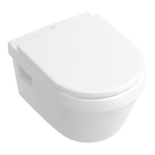 Villeroy&boch miska wisząca direct flush ceramic plus z deską wolnoopadającą omnia design 5684hrr1