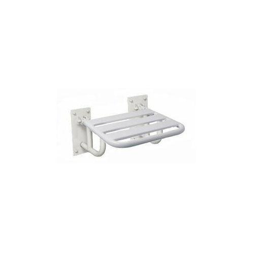Krzesełko prysznicowe uchylne z podporami mocowane do ściany kp2 marki Makoinstal