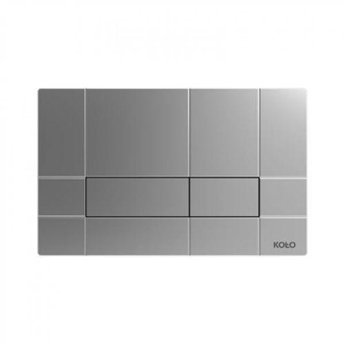 Box Koło przycisk spłukujący chrom mat - 94161003