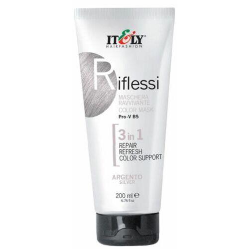 riflessi (silver) maska regeneracyjna do odnawiania koloru włosów (srebrny) marki Itely hairfashion