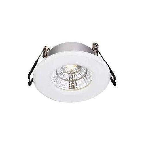 Oczko lampa sufitowa hades 106218 zewnętrzna oprawa do zabudowy led 4w ip44 wpust outdoor biały marki Markslojd