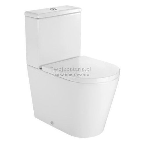 Roca Inspira Round miska WC do kompaktu Compacto A342528000