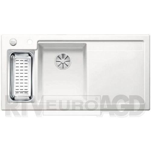 Zlewozmywak AXON II 6S ceramika PuraPlus biały mat lewa komora z korkiem InFino (4020684689670)