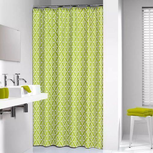 Zasłona prysznicowa tekstylna Floreale