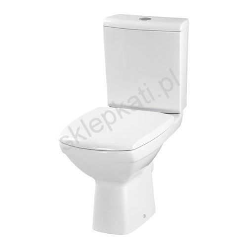 CERSANIT CARINA Kompakt WC, odpływ poziomy, deska twarda K31-011 (5907720650766)