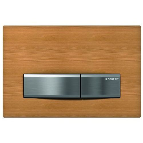 Geberit Sigma50 przycisk spłukujący przedni wypełnienie własne/chrom szczotkowany 115.788.00.5