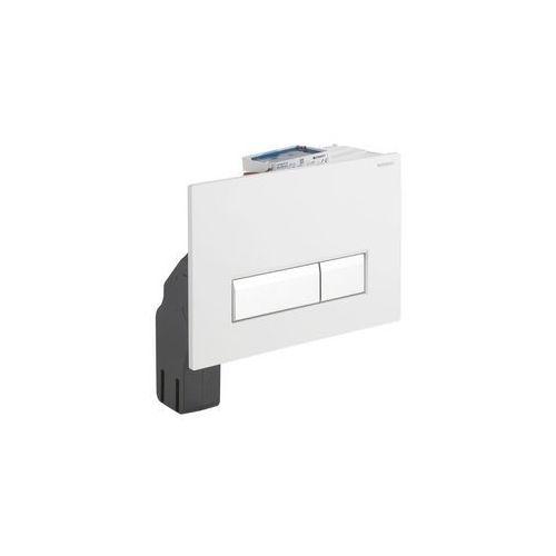 Geberit zestaw wykończeniowy z przyciskiem Sigma40 do elementu montażowego do WC z odciągiem biały 115.600.KQ.1