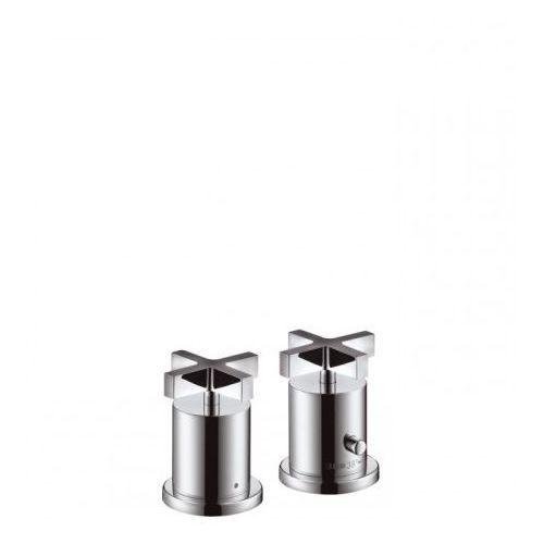 Hansgrohe axor citterio element zewnętrzny do dwuotworowej baterii termostatowej do montażu na brzeg (4011097488844)