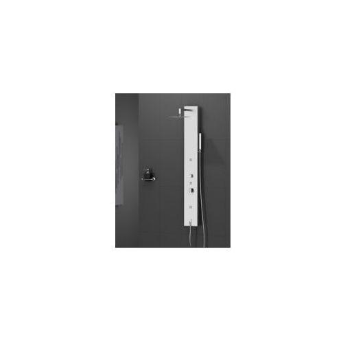 NEW TRENDY AQUOS Panel prysznicowy, inox EXP-0004 * wysyłka gratis