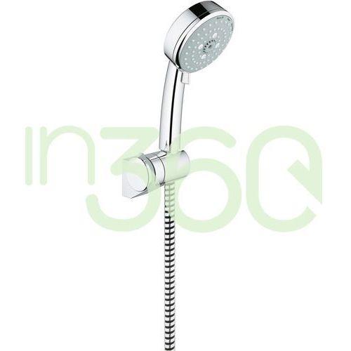new tempesta cosmopolitan zestaw prysznicowy słuchawka trio 100 mm chrom 27584002 marki Grohe