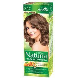 Joanna Naturia Color Farba do włosów Słodkie Cappuccino nr 240 (5901018093464)