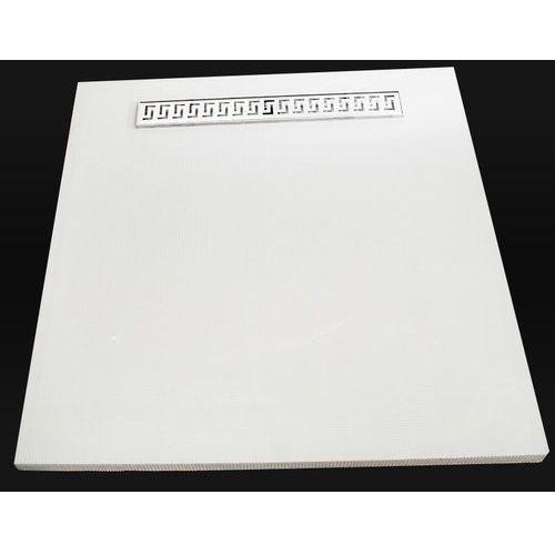 płyta prysznicowa z odpływem 900x900 marki Kesmet