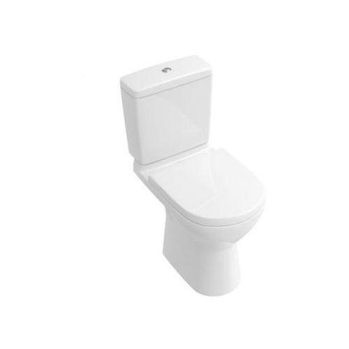 Villeroy & boch o.novo miska ustępowa lejowa do wc-kompaktu 36x67 cm, odpływ pionowy - weiss alpin 56610101 (56610101)