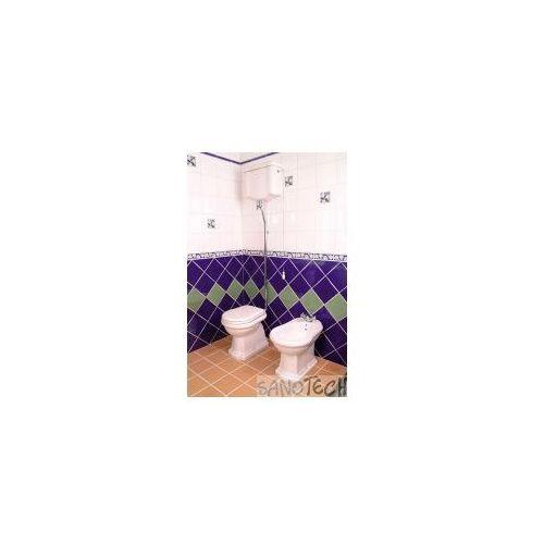 Kerasan Retro miska wc i zbiornik odpływ pionowy 1010/1080