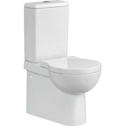 Cersanit nano kompakt wc, deska twarda k19-012 (5907720644482)