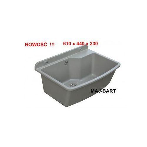zlew Komora gospodarcza ZELVO MAXIMUS Ciemny Granit nr kat. 00476 (5903111172039)
