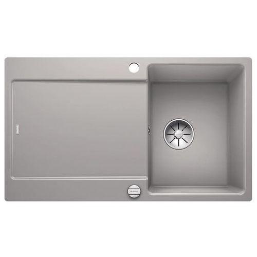 BLANCO IDENTO 45 S-F - Szarość aluminium, 522267