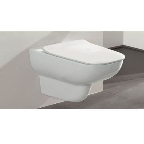 Zestaw miska joyce direct flush z deską slim wolnoopadającą v&b marki Villeroy&boch