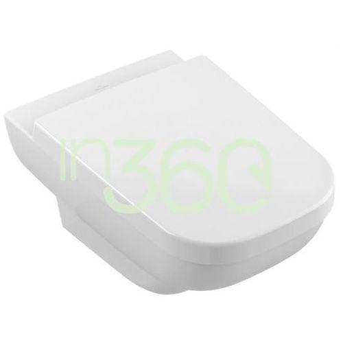 Villeroy & Boch Joyce miska WC wisząca bezrantowa, DirectFlush model podwieszany,, odpływ poziomy, nie nadaje się do montażu ze spłuczkami ciśnieniowymi 5607R0R1
