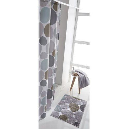 Zasłona prysznicowa z nadrukiem kamyków (3613957303253)