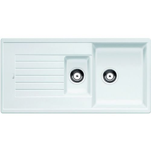 Blanco zia 6s silgranit biały puradur ii bez korka automatycznego - dostawa gratis (4020684433051)