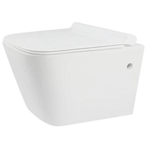 Miska wisząca WC bezkołnierzowa, Ryan Rimless Slim Rea ✖️AUTORYZOWANY DYSTRYBUTOR✖️