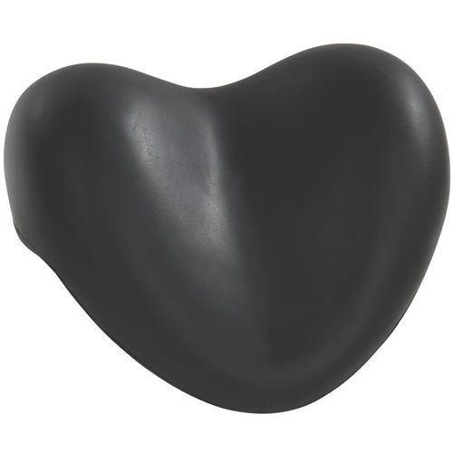 Wenko Poduszka relaksująca do wanny, czarne serce, (4008838189375)