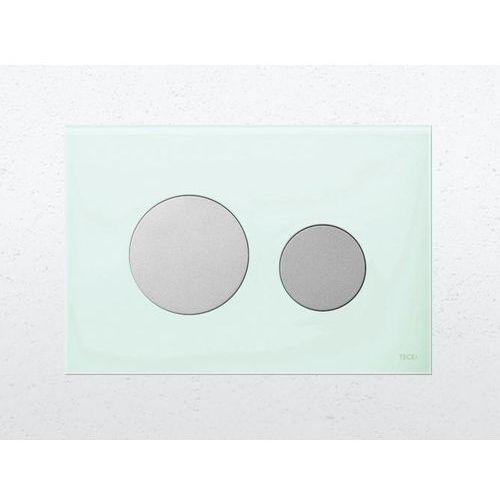 Tece płytka z przyciskami spłukującymi TeceLoop chrom mat 9240665