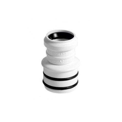 Tycner Redukcja wewnętrzna kielichowa, 50/32 mm biała