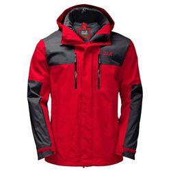 Przeciwdeszczowa kurtka męska JASPER FLEX MEN peak red - S