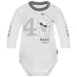 2be3 body chłopięce Baby League 74 biały