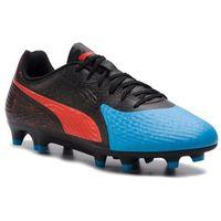 Piłka nożna, Buty PUMA - One 19.4 Fg/Ag 105492 01 Bleu Azur/Red Blast/Black