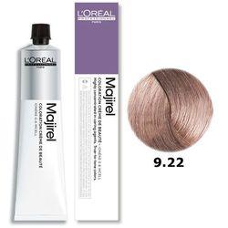 Loreal Majirel | Trwała farba do włosów - kolor 9.22 bardzo jasny blond opalizujący głęboki 50ml